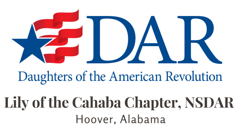 Lily of the Cahaba Chapter NSDAR